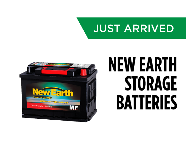 New Earth Storage Batteries