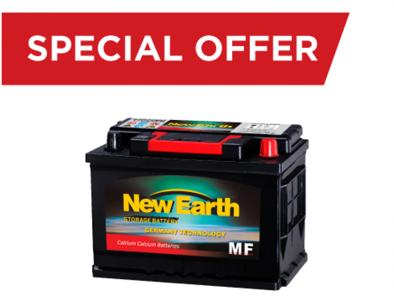 New Earth Batteries