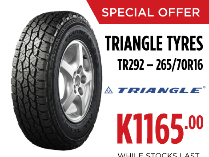 TRIANGLE TYRES  TR292 – 265/70R16