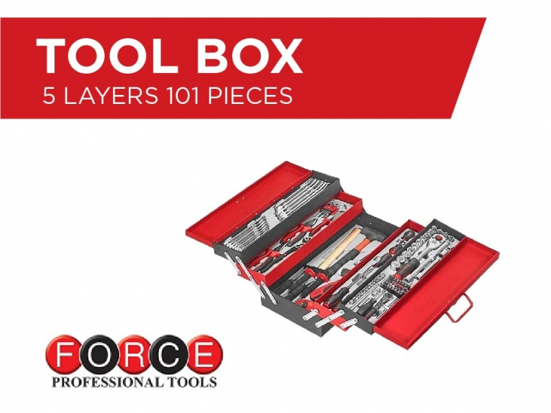 Tool Box - 101 Pieces