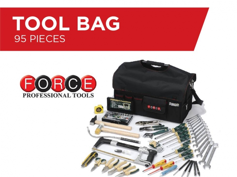 Tool Bag - 95 Pieces