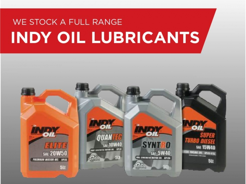We stock Indy Oil